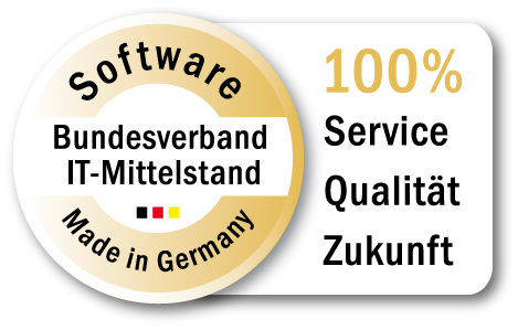 Logo Zertifizierung Software Made in Germany | Bundesverband IT-Mittelstand